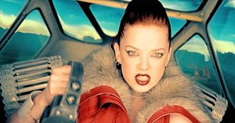 "Special (song) - Shirley Manson in the ""Special"" video."