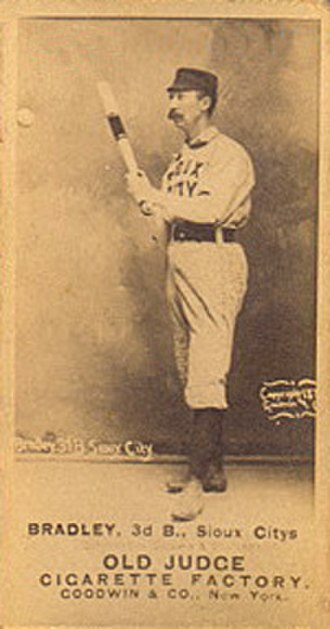 Nashville Blues - George Bradley, player-manager and third baseman/pitcher