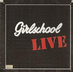 Girlschool Live - Image: Girlschool live