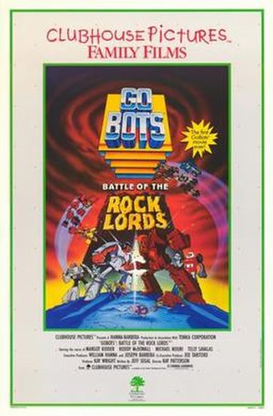 GoBots: Battle of the Rock Lords - The US theatrical poster