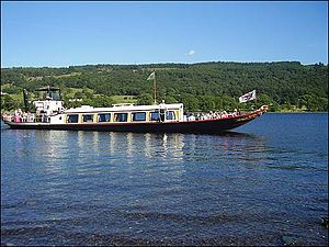 SY Gondola - Gondola on Coniston Water.