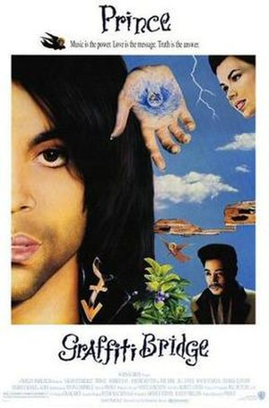 Graffiti Bridge (film) - Theatrical release poster