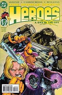<i>Heroes</i> (comics) Comic book series