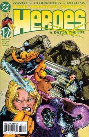 Heroes (comics) - The Heroes, artist ChrisCross