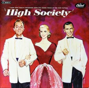 High Society (soundtrack) - Image: Highsocietycover