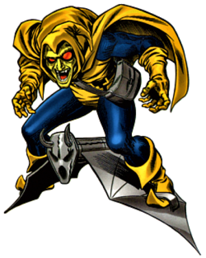 Roger Stern - The Hobgoblin character co-created by Stern. Art by John Romita Jr..