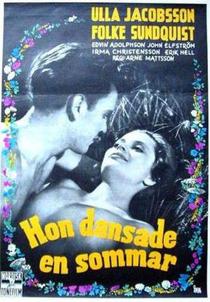 One Summer of Happiness - Image: Hon dansade en sommar poster