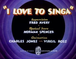 <i>I Love to Singa</i>