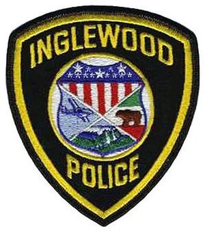Inglewood Police Department - Image: Inglewood pd patch