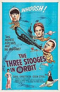 <i>The Three Stooges in Orbit</i> 1962 film by Edward Bernds