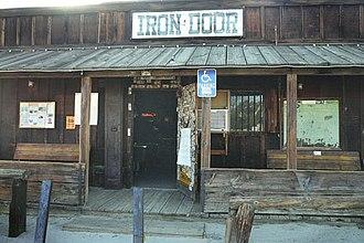 Ocotillo Wells, California - Front of the Iron Door