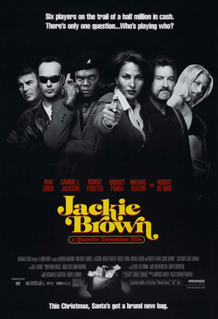 <i>Jackie Brown</i> 1997 film directed by Quentin Tarantino