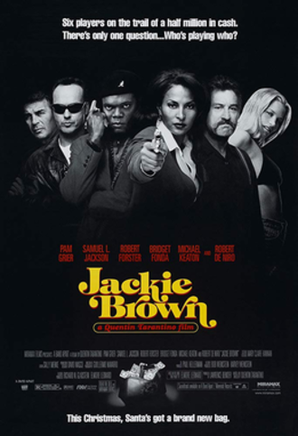 Jackie Brown - Theatrical release poster