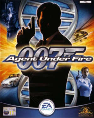 James Bond 007: Agent Under Fire - Image: James Bond 007 Agent Under Fire Coverart