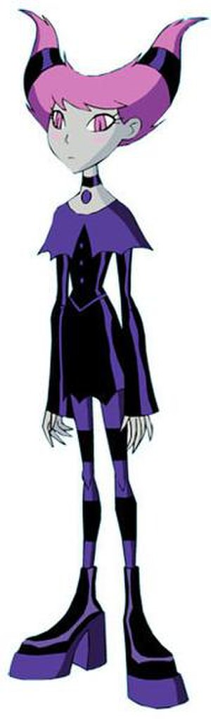 Jinx (DC Comics) - Jinx from Teen Titans the animated series