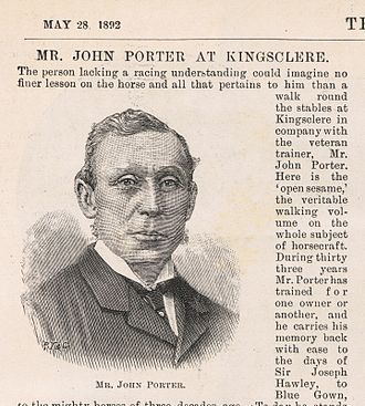 John Porter (horseman) - John Porter as shown in the Illustrated London News, May 28, 1892.