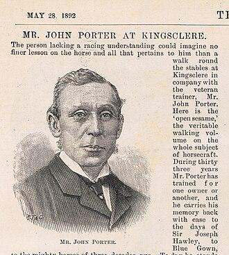 John Porter (horseman) - John Porter as shown in the Illustrated London News, May 28, 1892.
