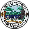 Official seal of Jones County