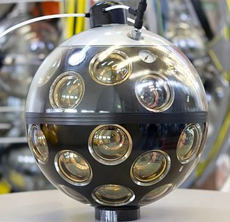 KM3NeT - KM3NeT Digital Optical Module (DOM) in the laboratory