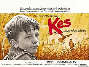 Kes (film) - UK theatrical release poster