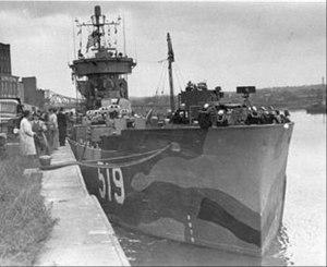 USS LSM(R)-519 - Image: LSRM519