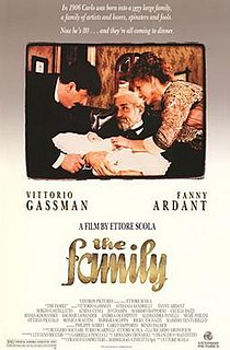 <i>The Family</i> (1987 film) 1987 film by Ettore Scola