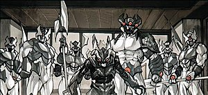 Leviathan (Marvel Comics) - Image: Leviathan Horde