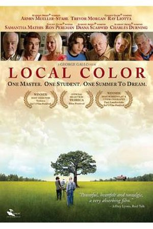 Local Color (film) - Theatrical release poster