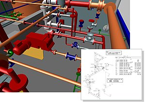 MPDS4 - The MPDS4 Piping Design module delivers automated piping isometrics