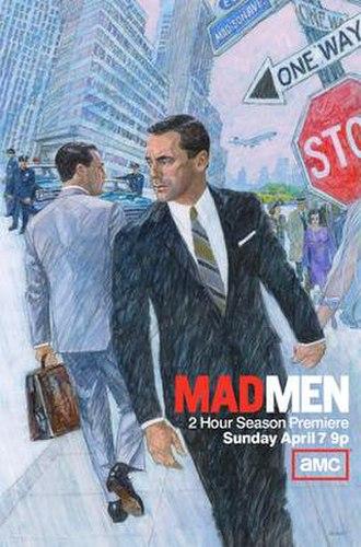 Mad Men (season 6) - Image: Mad Men Season 6, Promotional Poster
