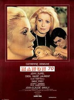<i>Manon 70</i> 1968 film by Jean Aurel