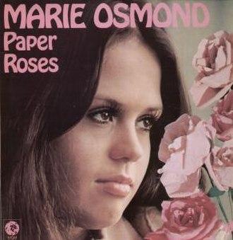 Paper Roses (album) - Image: Marie Osmond Paper Roses
