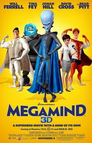 Megamind - Theatrical release poster