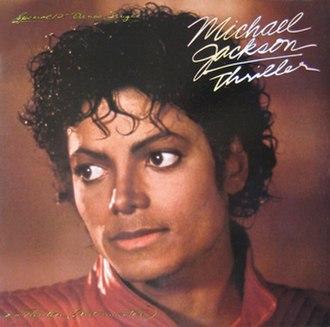 Thriller (song) - Image: Michael jackson thriller 12 inch single USA