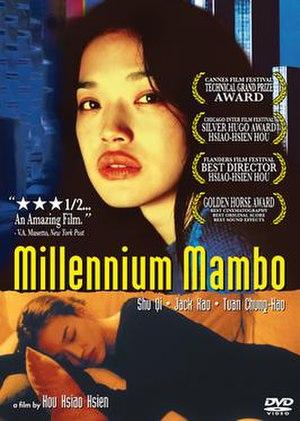 Millennium Mambo - DVD cover