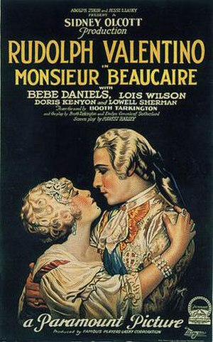 Monsieur Beaucaire (1924 film) - Bebe Daniels and Rudolph Valentino