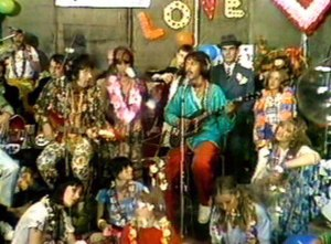 MovieCD - Unaltered still taken from MovieCD edition of The Rutles: All You Need is Cash.