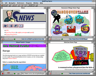 History of the Opera web browser