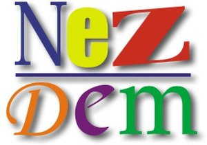Independent Democrats (Czech Republic) - Image: NEZDEM Logo