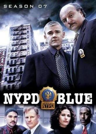 NYPD Blue (season 7) - Season 7 U.S. DVD Cover