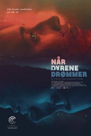 When Animals Dream - Original film poster showing its Danish title