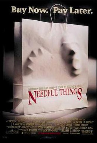 Needful Things (film) - Theatrical release poster
