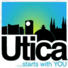 Official logo of Utica, New York