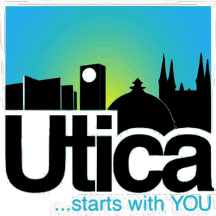 Official logo of Utica, New York
