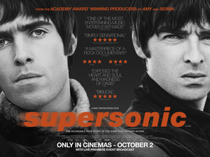 Oasis: Supersonic - British release poster