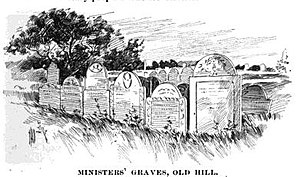 Old Burial Hill (Marblehead, Massachusetts) - Puritan ministers graves on Old Burial Hill