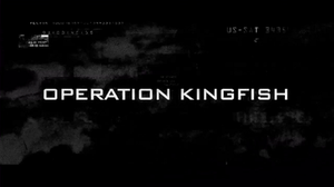 Find Makarov: Operation Kingfish - Title logo of the short film