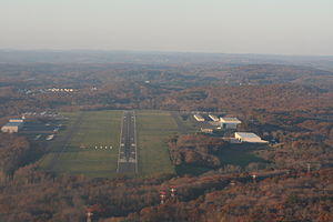 Waterbury–Oxford Airport - Image: Oxford Airport