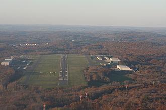 Waterbury–Oxford Airport - Image: Oxford Airport