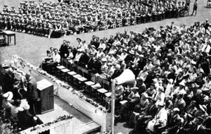 One Tree Hill College - Prizegiving 3 December 1955. The school was also officially opened on this date.